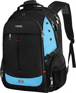 TSA Laptop Backpack, Business Travel Backpack with Large Capacity for 17 Inch Notebook, Durable  ...