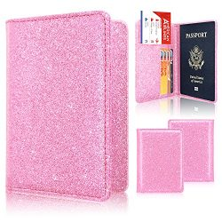 Passport Holder Wallet, ACdream Protective Premium PU Leather RFID Blocking Case for Passport, L ...