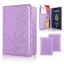Passport Holder Case, ACdream Protective Premium PU Leather RFID Blocking Wallet Case for Passpo ...