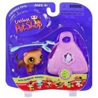 Littlest Pet Shop Portable Pets – Ferret with Leash and Carrier