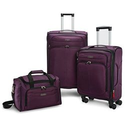 Samsonite Versalite DLX 3 Piece Set Purple