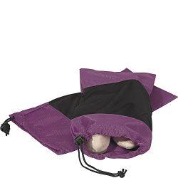 eBags Shoe Sleeves – Set of 2 (Eggplant)