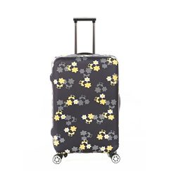 Fvstar Washable Luggage Cover Protector Spandex Suitcase Cover for Travel (M (22-24 inch Luggage ...