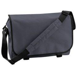 Bagbase Adjustable Messenger Bag (11 Liters) (One Size) (Graphite)