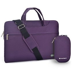 Laptop Shoulder Bag, 12-13.3 inch Laptop Case, Slim Briefcase Computer Bag Business Carry Bag Wa ...