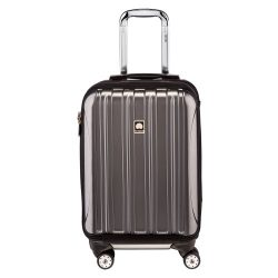 Delsey Luggage Helium Aero, International Carry On Luggage, Front Pocket Hard Case Spinner Suitc ...
