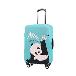 Rainproof Elastic Luggage Protective Cover Suitcase Protector Carry-on and Checked-in Size (Larg ...