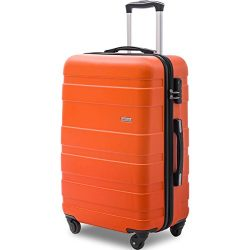 Merax Afuture Luggage Lightweight Spinner Suitcase 20inch 24inch and 28 inch Available (20-Carry ...