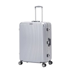 ORKAN AL frame design hard shell luggage Carry On Suitcase 1pc/3 pcs 4 wheels/light weight/TSA L ...