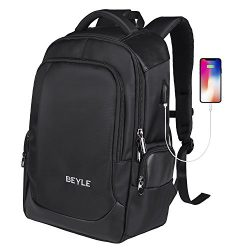 Laptop Backpack-Business computer bag Travel Backpack for Men&Women, Anti Theft Waterproof C ...