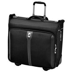 London Fog Knightsbridge 44″ Wheeled Garment Bag, Black