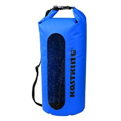 KastKing Waterproof Dry Bag, Boating and Fishing Kayak Dry Bags Waterproof Duffel Backpack,Dry S ...
