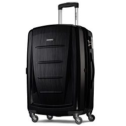 Samsonite Winfield 2 Fashion 28 Spinner (Brushed Black, 28-inch)
