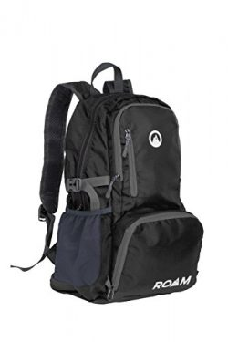Roam Foldable Backpack – Lightweight Day Pack Water-Resistant, 10oz, 25L, – Durable Tear-Resista ...