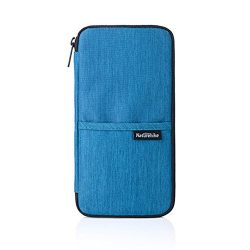 Naturehike Multi Function Outdoor Bag for Cash, Passport, Card Multi Using Travel Wallet (Blue)