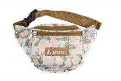 Everest Signature Pattern Waist Pack, Vintage Floral, One Size