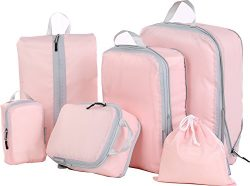 Travel Compression Bag, JJ POWER Packing Cubes/Luggage Organizers for Backpack on Short Trip (Pi ...