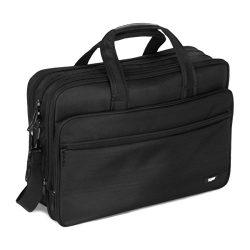 tdaw 17 inch Laptop Bag, Laptop Case/Travel Briefcase or Messenger Bag/Expandable Large Size &am ...