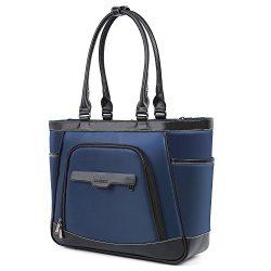 UtoteBag Laptop Tote Bag 15.6 Inch Laptop Bag Briefcase Water Resistant Shoulder Bag Handbag for ...