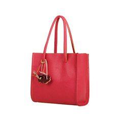 Hot Sale!New!Todaies,Fashion Elegant Girls Handbags Leather Shoulder Bag Candy Color Flowers Bag ...