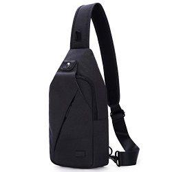 Hikpacker Sling Shoulder Crossbody Bag Travel Hiking Daypack For Men Or Women
