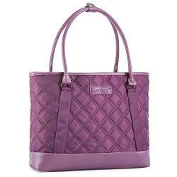 Gonex Women Laptop Tote Bag, 15.6 Inch Lightweight Tablet Handbag Shoulder Bag Briefcase for Bus ...