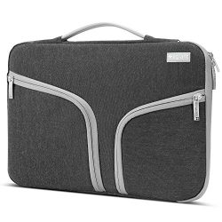 Egiant 14-15.6 Inch Laptop Sleeve Shockproof Protective Case Briefcase for Mac pro 15|HP|Dell ...