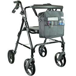 Rollator Bag by Vive – Universal Travel Tote for Carrying Accessories on Wheelchair, Rolla ...