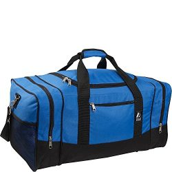 Everest Luggage Sporty Gear Bag – Large (One Size, Royal Blue)