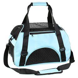 Pedy Portable Pet Carrier,Airline Approved Under Seat Handbag Shoulder Bag, Pet Travel Carrier f ...