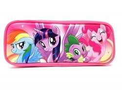 My Little Pony Wallet-Passport Bag- String Sling Tote Bag Backpack (PINK PENCIL CASE)