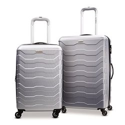Samsonite Tread Lite Lightweight Hardside Set (20/24 – Inches), Silver ( 79379-1776 )