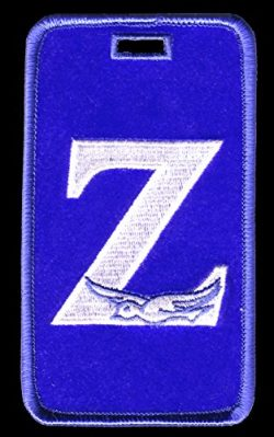 Zeta Phi Beta (Zpb) Sorority Embroidery Id/luggage Tag