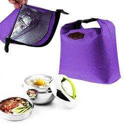 Lunch bags On sale!! Portable Waterproof Thermal Cooler Insulated Lunch Box Tote Storage Picnic  ...