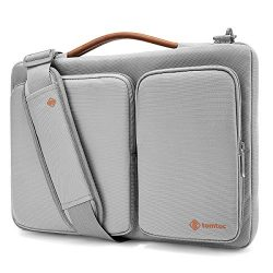 Tomtoc 15 inch Laptop Shoulder Bag with CornerArmor Patent, 360° Protective Laptop Sleeve for 15 ...