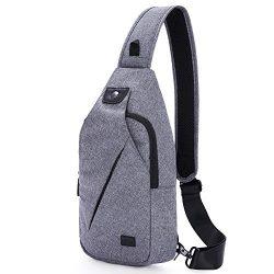 Hikpacker Lightweight Sling Shoulder Crossbody Bag Travel Hiking backpack Daypack For Men Or Wom ...