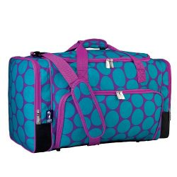 Wildkin Weekender Duffel Bag, Features Removable Shoulder Strap and Moisture-Resistant Lining, C ...