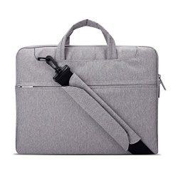 Lacdo 15-15.6 Inch Waterproof Fabric Laptop Shoulder Bag Laptop Sleeve Bag Notebook Case for Mac ...