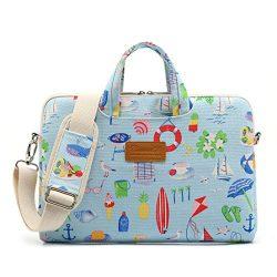 Canvaslife Summer style Patten Waterproof Laptop Shoulder Messenger Bag Case Sleeve for 12 Inch  ...