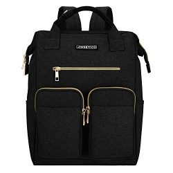 Travel Backpack Multipurpose Doctor Bag Polyester Backpack Unisex Vintage School Bag Laptop Back ...