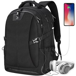 Laptop Backpack 17.3 Inch Travel Anti-theft Waterproof School Backpack Business College Large Ca ...