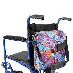 Wheelchair Bag by Vive – Accessory Storage Bag for Carrying Loose Items & Accessories  ...