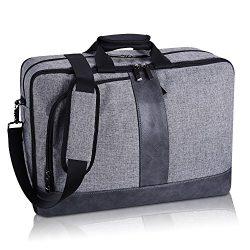 Estarer 173 Inch Laptop Messenger Convertible Backpack Business Shoulder Briefcase 3 Ways Bag F