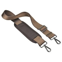 Qishare 59 Inch Universal Replacement Shoulder Strap Pet Carrier Strap Adjustable Belt with Meta ...