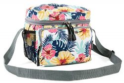 Everest Cooler/Lunch Pattern Bag Travel Tote, Tropical, One Size