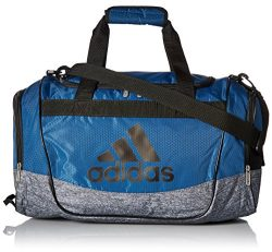 adidas Defender II Small Duffel Bag, Core Blue/Black/Onix Jersey
