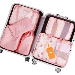 Packing Cubes 7 pcs Travel Luggage Packing Organizers