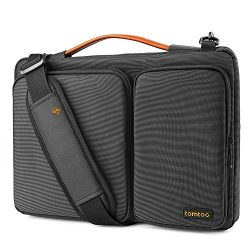 Tomtoc 14 Inch Laptop Shoulder Bag with CornerArmor Patent, 360° Protective Laptop Case for 14&# ...
