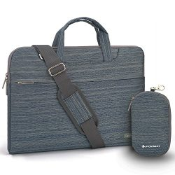 Laptop Shoulder Bag, 11-11.6 inch Tablet Laptop Case, Slim Briefcase Computer Bag Business Handl ...