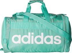 adidas Santiago Duffel Bag, Green/White, One Size